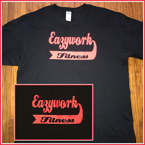 Eaxywork with baseball logo
